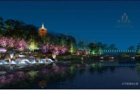 怀化市太平溪上游景观照明规划