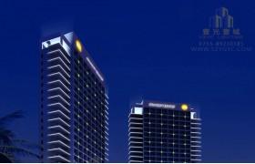 凤池岛假日酒店灯光设计