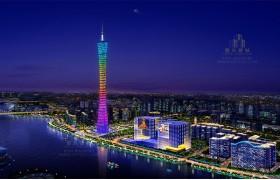 广州亚运会景观照明整治规划