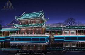 昆明翠湖公园古建筑光环境设计